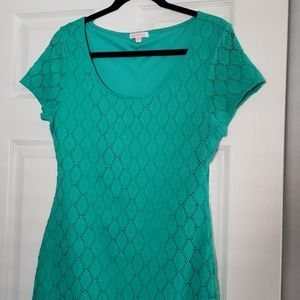 The perfect teal dress
